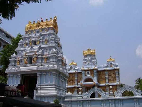 Tirupati photos, ISKCON Lord Krishna Temple - External View