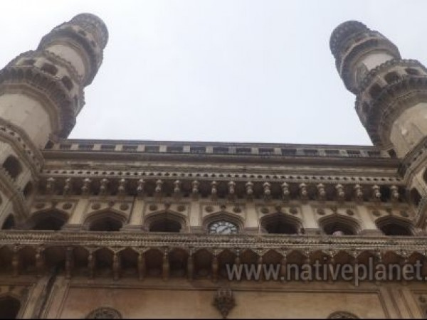 Hyderabad photos, Charminar - Low Angle View
