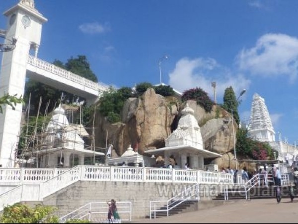Hyderabad photos, Birla Mandir - A Distant View