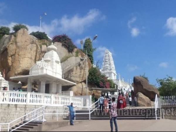 Hyderabad photos, Birla Mandir - Steps