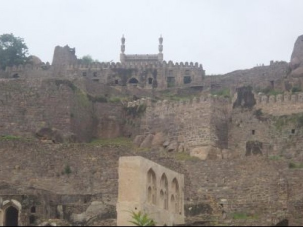 Hyderabad photos, Golconda Fort - A View