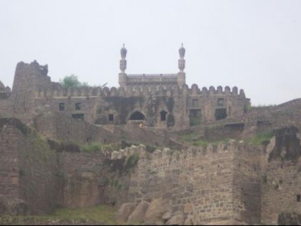 Hyderabad photos, Golconda Fort - A Distant View