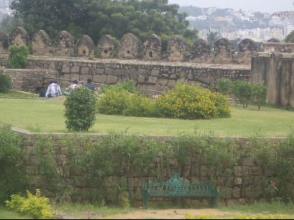 Hyderabad photos, Golconda Fort - Gardens