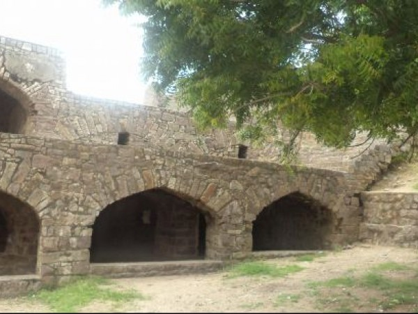 Hyderabad photos, Golconda Fort - Archway