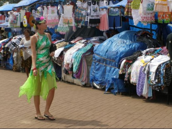 Goa photos, Dona Paula - The Market