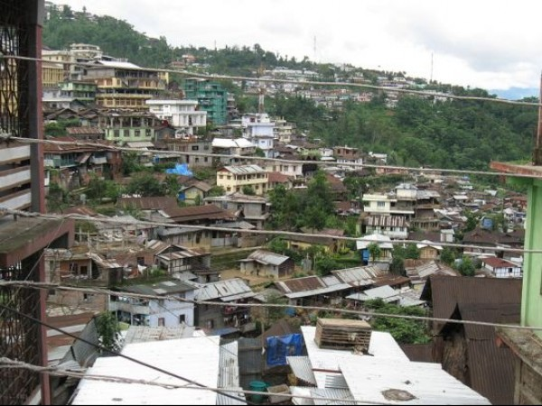 Kohima photos, Aerial view