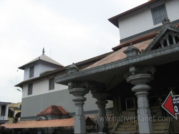 Dharmasthala photos, Dharmasthala Temple - Outer View