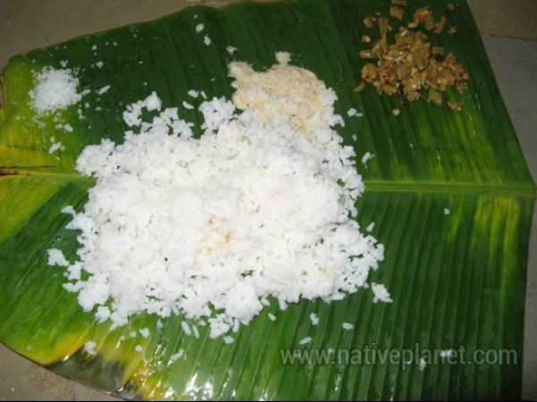 Dharmasthala photos, Dharmasthala Temple - Prasad Served in the Temple