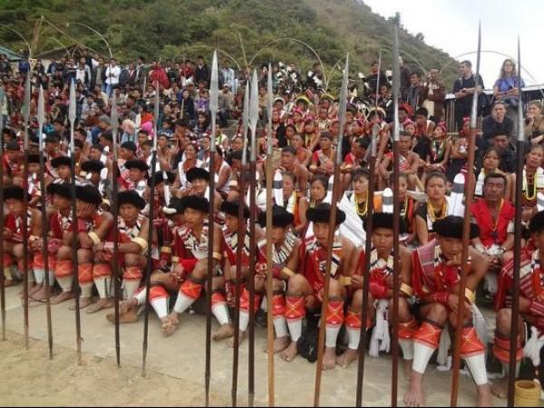 Kohima photos, Hornbill Festival - Locals