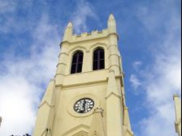 Shimla photos, Christ Church - Low angled view