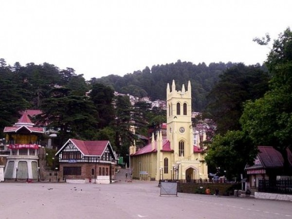 Shimla photos, Ridge - View of the ridge