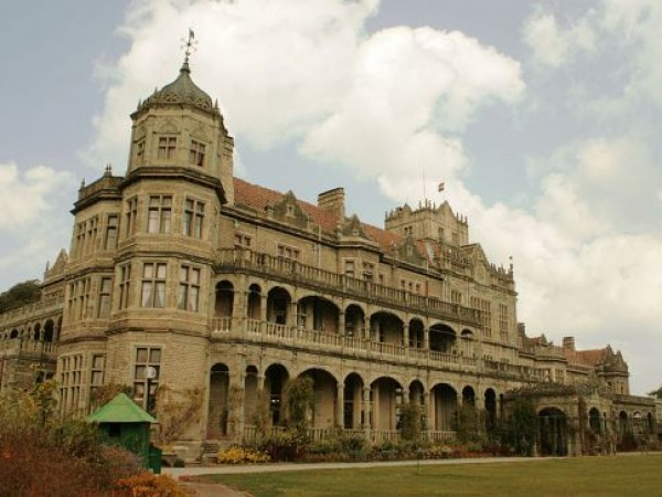 Shimla photos, Viceregal Lodge & Botanical Gardens - A lower angled view
