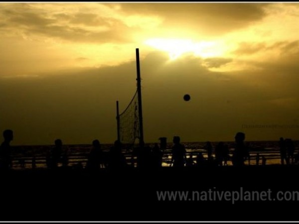 Goa photos, Colva Beach - Colva Beach evening