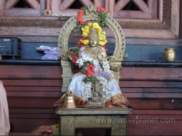 Kollur photos, Mookambika Temple - Idol inside the Temple