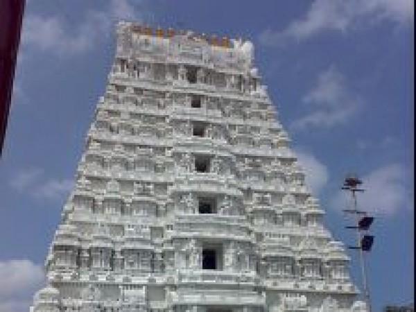 Kalahasti photos, Kalahasti Temple - Gopuram of the temple