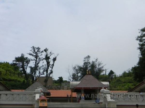 Coorg photos, Talacauvery - Temple view