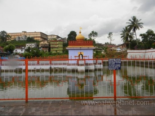 Coorg photos, Omkareshwara Temple - A distant view of Omkareshwar temple