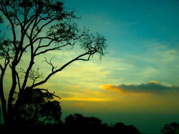 Yercaud photos, Sunset at Yercaud