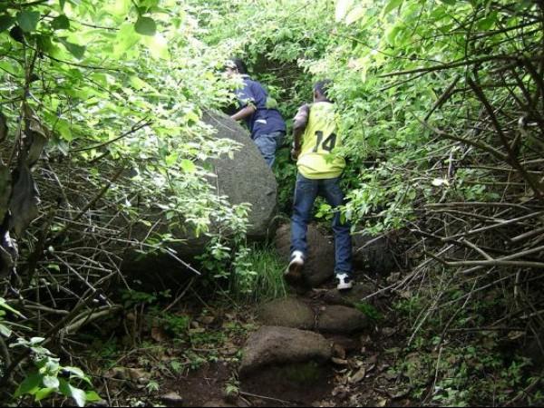 Yelagiri photos, Trekking Uphill - Trekking Uphill