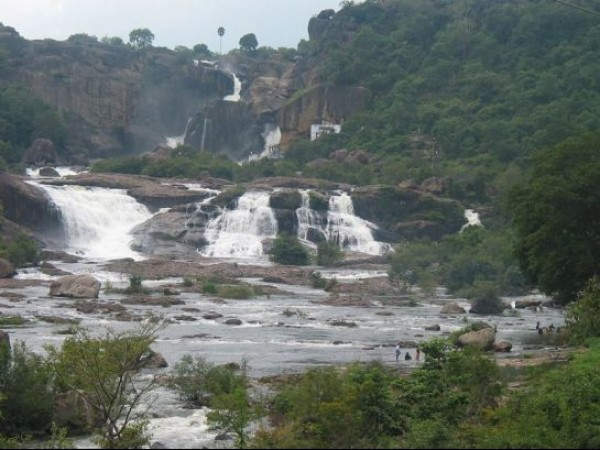 Ambasamudram photos, Agasthiyar falls - A Picturesque View