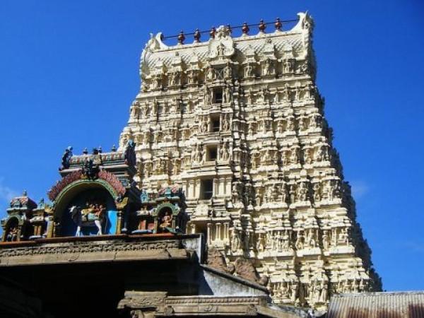Ambasamudram photos, Papanasam Papanasar Temple - Gopuram
