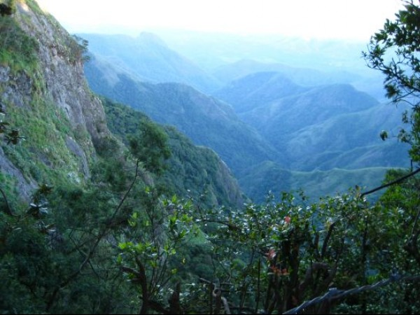 Kodaikanal photos, Green Valley View - View Of The Suicide Point