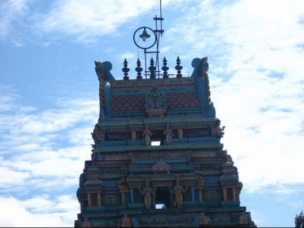 Kodaikanal Photos, Kurinji Andavar Temple - Gopuram