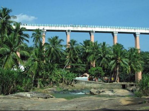 Thiruvattar photos, Mathur hanging bridge - Hanging bridge
