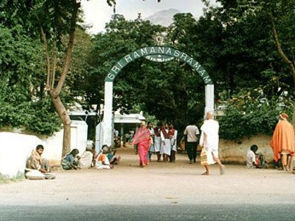 Thiruvannamalai photos, Ramana Ashram - Entrance of the Ashram