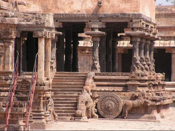 Darasuram photos, Airavatesvara temple - A View