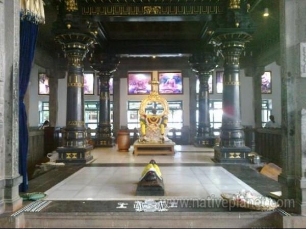 Thiruvannamalai photos, Ramana Ashram - Ramana Samadhi
