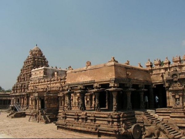 Darasuram photos, Airavatesvara temple - Temple Full View