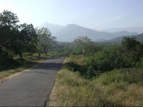 Thiruvannamalai photos, Annamalai hills - A distant view