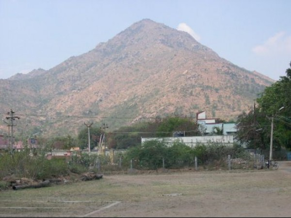 Thiruvannamalai photos, Annamalai hills - View of the Hill