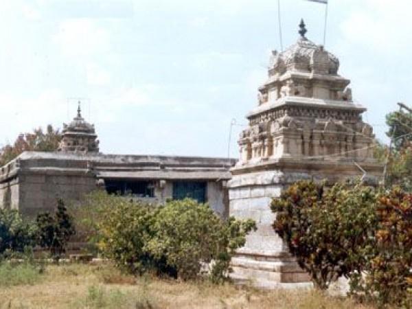 Dharmapuri photos, Chenraya Perumal Temple - A View