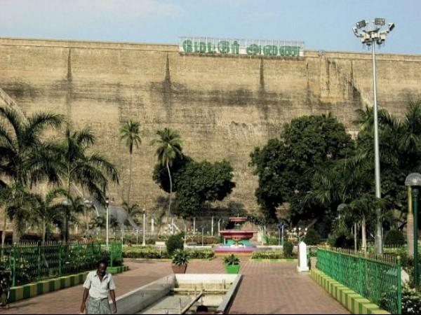 Dharmapuri photos, Mettur - Mettur Dam and Garden