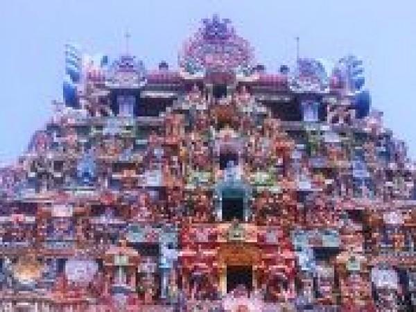 Thiruvanaikaval photos, Jambulingeshwarar & Akilandeshwari Temple - Gopura Jambulingeshwarar