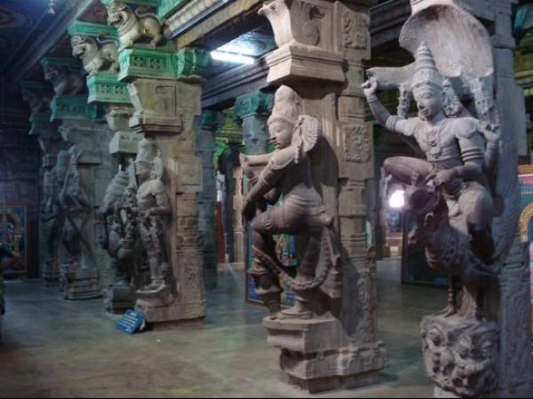 Madurai photos, Meenakshi Amman Temple - Sculptures