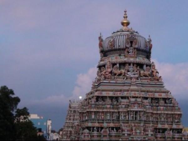 Madurai photos, Koodal Alzhagar Temple - Clear View
