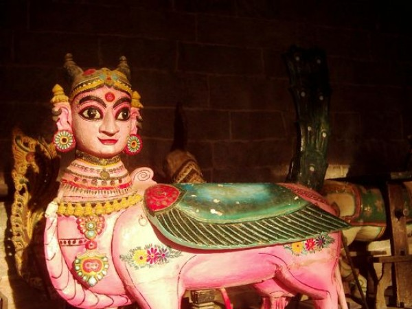 Madurai photos, Tiruchuzhi - The Vehicle of God