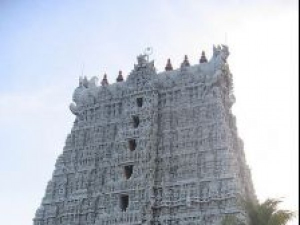 Suchindram photos, Thanumalayan temple - Gopuram
