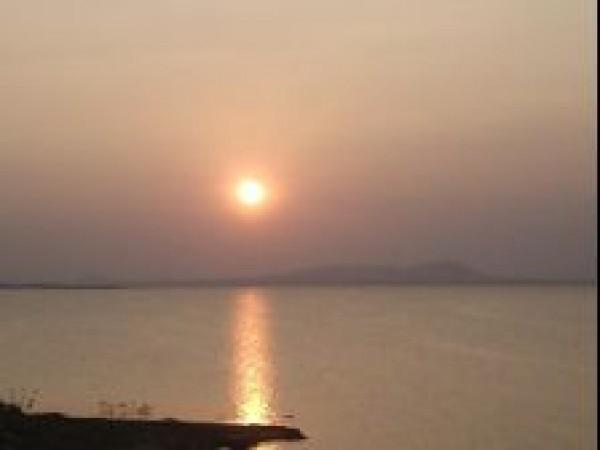 Madurai photos, Vaigai dam - Twilight