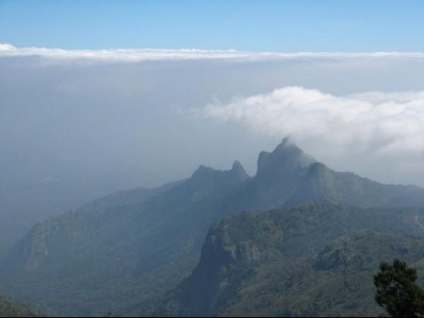 Kotagiri photos, Rangaswamy Pillar & Peak - A Picturesque View