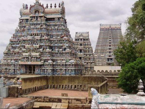 Srirangam photos, Srirangam temple - Gopurams