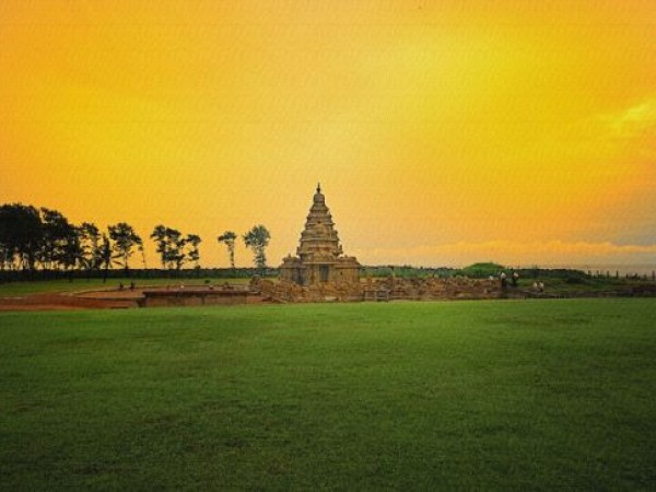Mahabalipuram photos, Shore Temple - A Beautiful View