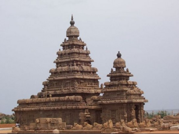 Mahabalipuram photos, Shore Temple - Close View