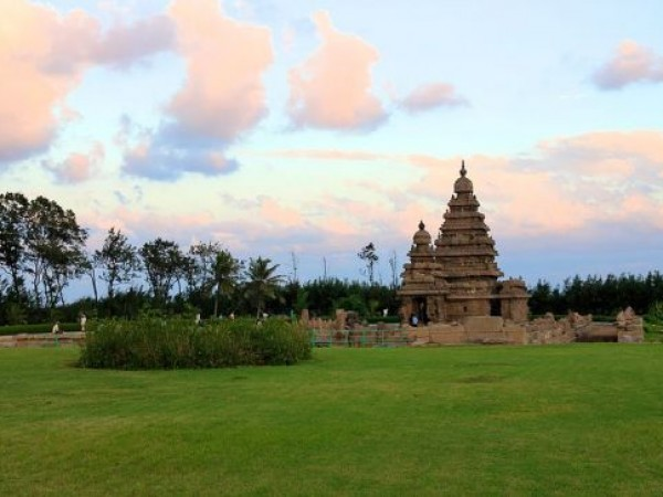 Mahabalipuram photos, Shore Temple - A Picturesque View