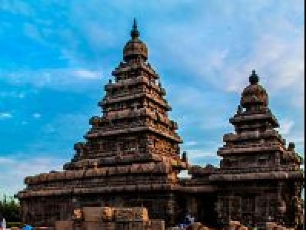 Mahabalipuram photos, Shore Temple - A View