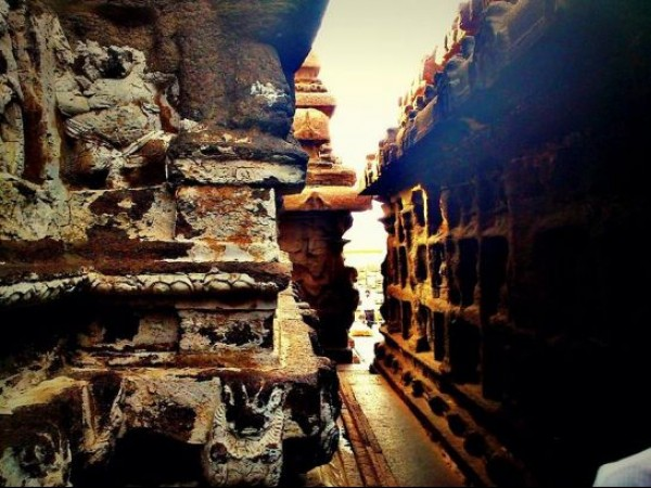 Mahabalipuram photos, Shore Temple - A View From Inside