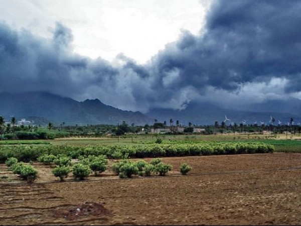 Nagarcoil photos, Monsoon clouds